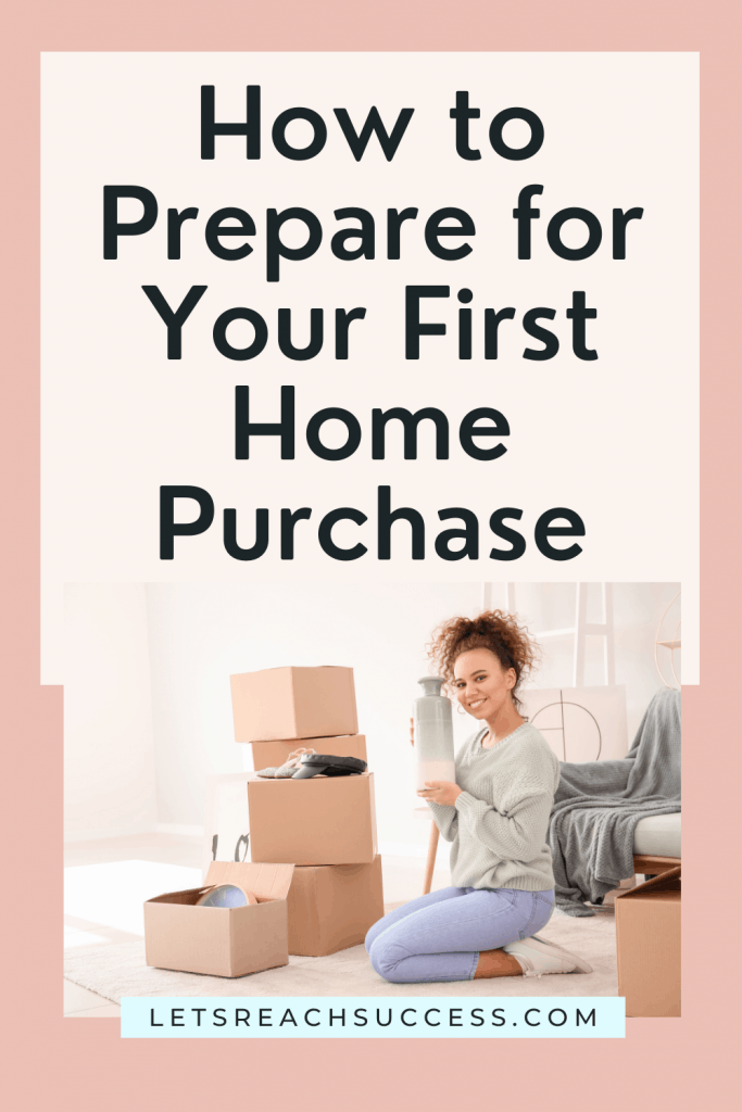 The purchase of a home is a serious investment. Preparing for this step can help you reduce the amount you pay over time. #buyingyourfirsthome #homebuyingtips #homebuyingfirstime #homebuyerchecklist #homebuyertips #creditscoretips