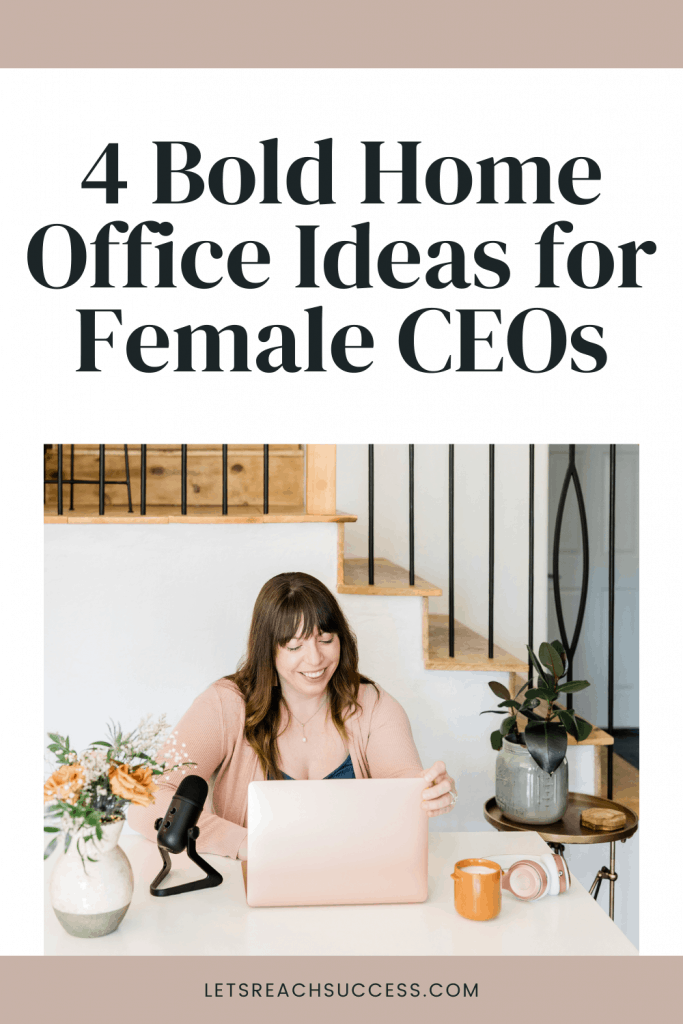 Here are some smart and creative home office ideas for the female boss looking to create the best environment to grow her business: